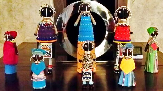 非洲特色手工艺品(娃娃)