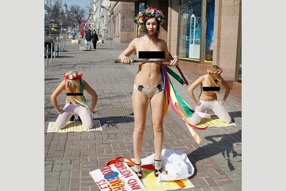 第9天,乌克兰出美女
