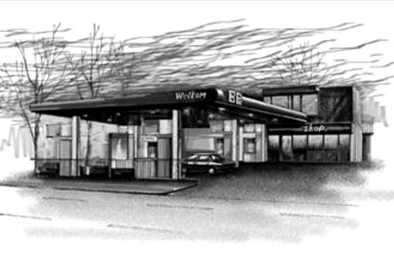第25天,荒郊加油站